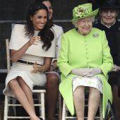 Erster gemeinsamer Auftritt mit der Queen