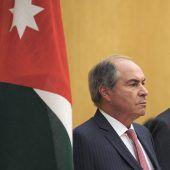 Jordaniens Premier tritt zurück