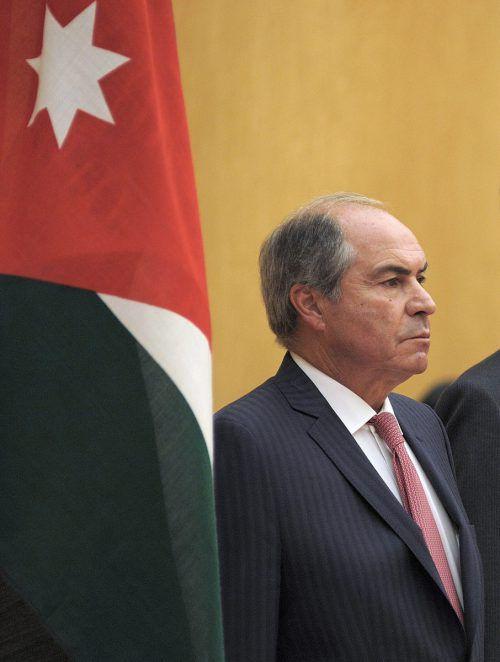 Hani al-Mulki reagierte mit seinem Rücktritt auf die tagelangen Proteste.AP