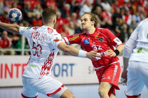 Hard-Akteur Gerald Zeiner erzielte zwei, sein Teamkollege Boris Zivkovic so wie Bregenz-Flügel Marian Klopcic drei Tore.GEPA