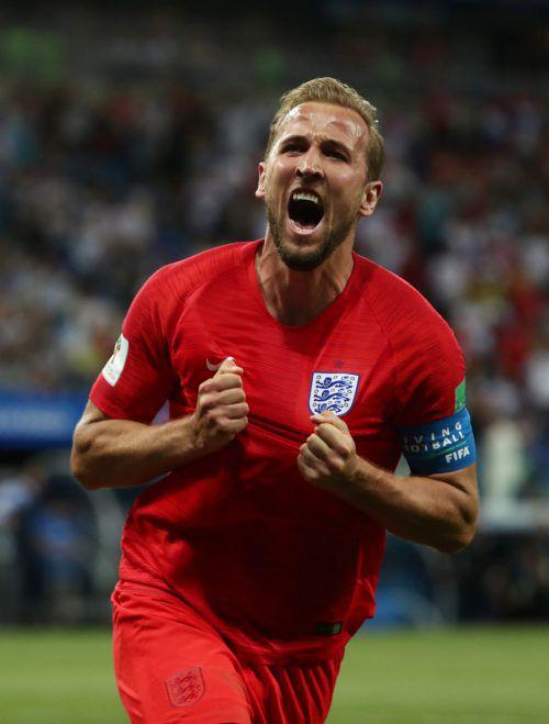 """Harry Kane kürte sich mit zwei Toren gegen Tunesien zum """"Man of the Match"""".reuters"""