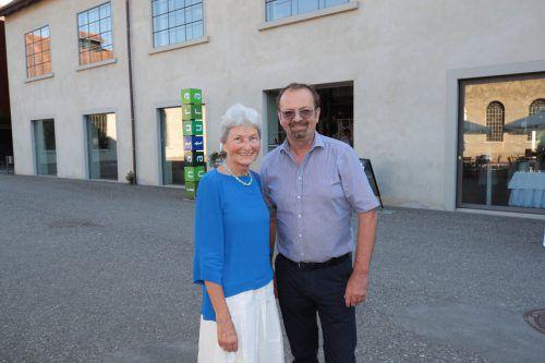 Hildegard Breiner und Rainer Siegele feierten ebenso mit.
