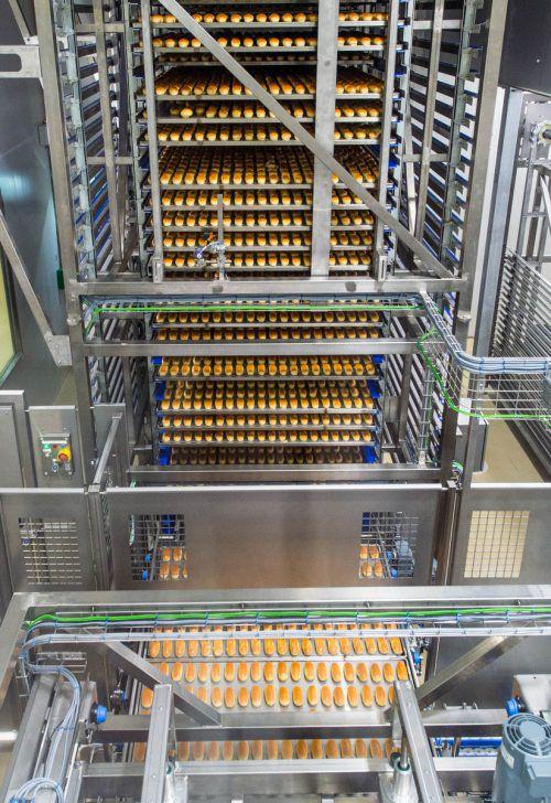 Im Erweiterungsbau des Ölz-Betriebs in Dornbirn-Wallenmahd soll der Hefe- und Toastbereich mehr Platz bekommen. VN/Stiplovsek