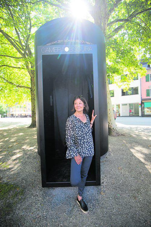 Imelda Wachter möchte die Besucher einladen, innezuhalten.