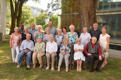 In der Kummenberggemeinde Mäder wurden Jubilare bei einem Fest in den Mittelpunkt gestellt. Mima