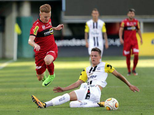 In der neuen Saison wird Felix Luckeneder (r.) mit Altachs Christian Gebauer gemeinsam auf Punktejagd in der Bundesliga gehen.gepa