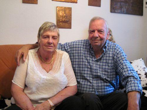Ingrid und Pepi blicken auf 50 gemeinsame Ehejahre zurück.privat / Krebitz