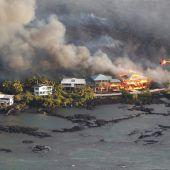 Komplette Ortschaft auf Hawaii versinkt in Lavamassen