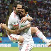 Diego Costa rettet Spanien 1:0-Sieg über den Iran