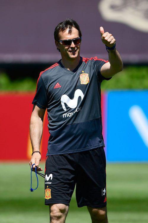 Julen Lopetegui wird nach der WM Chefcoach bei Real Madrid.afp
