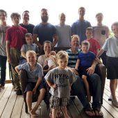 US-Familie hat 14 Söhne