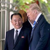 Gipfel zwischen Trump und Kim findet doch am 12. Juni statt