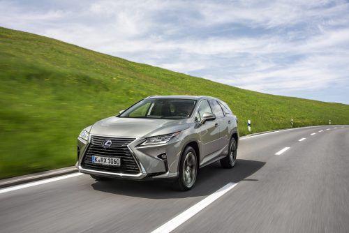 Langversion des RX: Das schicke Premium-SUV von Lexus gibt es jetzt auch in einer Version mit Platz für bis zu sieben Personen.werk
