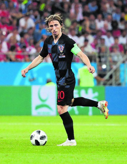 Luka Modric zieht im Mittelfeld der Kroaten die Fäden. Reuters