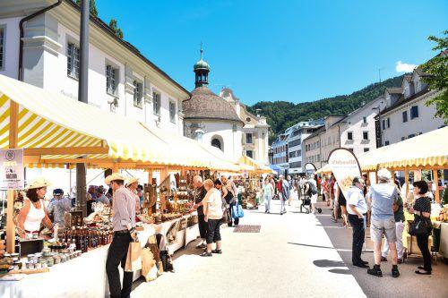 """Lustenauer """"Züg und Sacha"""" sind bald am Kornmarktplatz zu bewundern. Gde"""