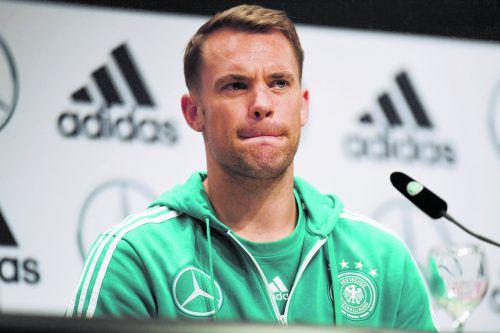 Manuel Neuer sieht die Riege der Führungsspieler gefordert. apa