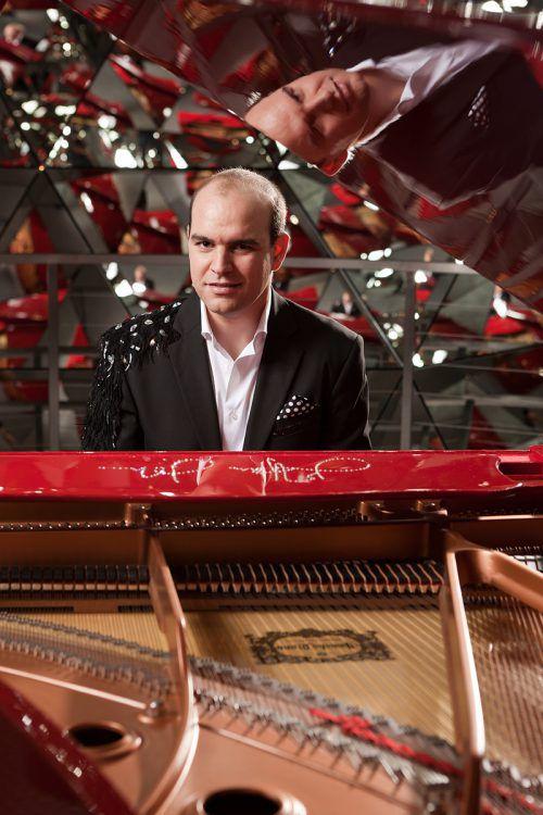"Mario Pecoraro präsentiert seine ""Piano Man Show"". privat"