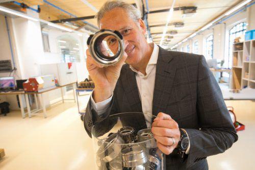 Obwohl das nächste Jahr für die Branche herausfordernd sein wird, hält Henn-CEO Martin Ohneberg das Umsatzziel von 103 Millionen Euro im Visier. VN/Hartinger