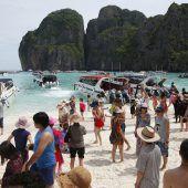 Thailand schließt Traumstrand aus The Beach für vier Monate