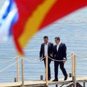 Aussöhnung um Mazedonien
