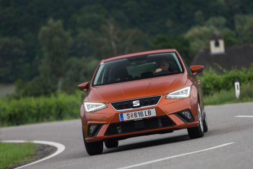 Mit dem Mii, dem Ibiza (Bild) und dem Leon hat Seat drei Erdgasmodelle im Angebot. Ein CNG-Arona soll demnächst folgen.werk