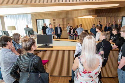 Mit der AK-Berufsschul-Million wurde der Lernraum der Landesberufsschule Bregenz 2 finanziert. AK Vorarlberg