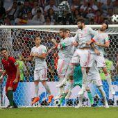Ronaldo gegen Spanien – 3:3