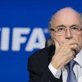 Brisanter WM-Besuch vonEx-Präsident Sepp Blatter