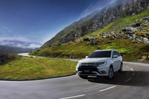 Mitsubishi hat dem Outlander Plug-in-Hybrid einen neuen Antriebsstrang mit mehr Leistung und besserem Drehmoment verpasst.werk