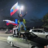 Der russische Bärim Freudenrausch