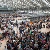Stromausfall legt Flughafen lahm