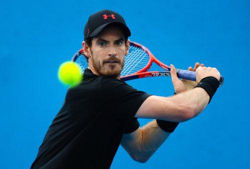 Nach einer Hüftoperation verschiebt Andy Murray die Rückkehr auf den Tennisplatz.ap