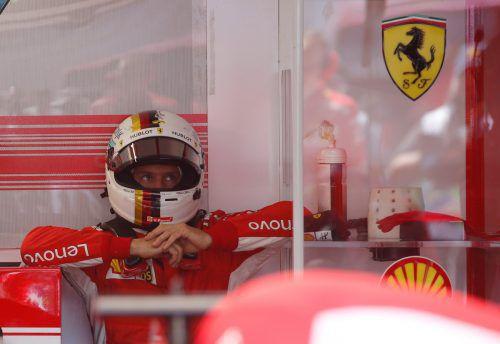 Nachdenkphase bei Sebastian Vettel: Beim Grand Prix in Le Castellet ließ er unnötig Punkte liegen.Reuters