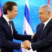 Kurz verspricht entschlossenen Kampf gegen Antisemitismus