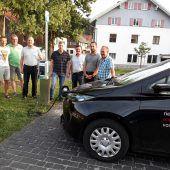 Neue Ladestation für Elektroautos