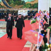 Kim versichert Xi Verbundenheit