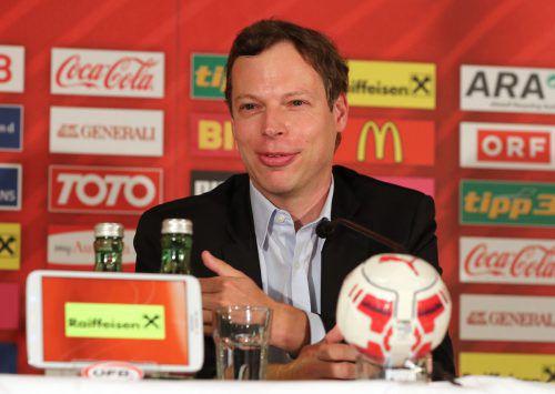 ÖFB-Generalsekretär Thomas Hollerer ist bei der WM für die FIFA tätig.gepa