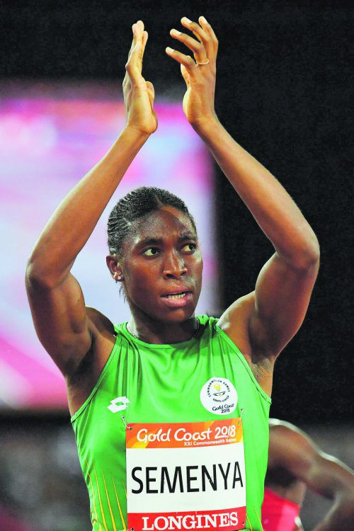 Olympiasiegerin Caster Semenya sieht sich diskriminiert.apa