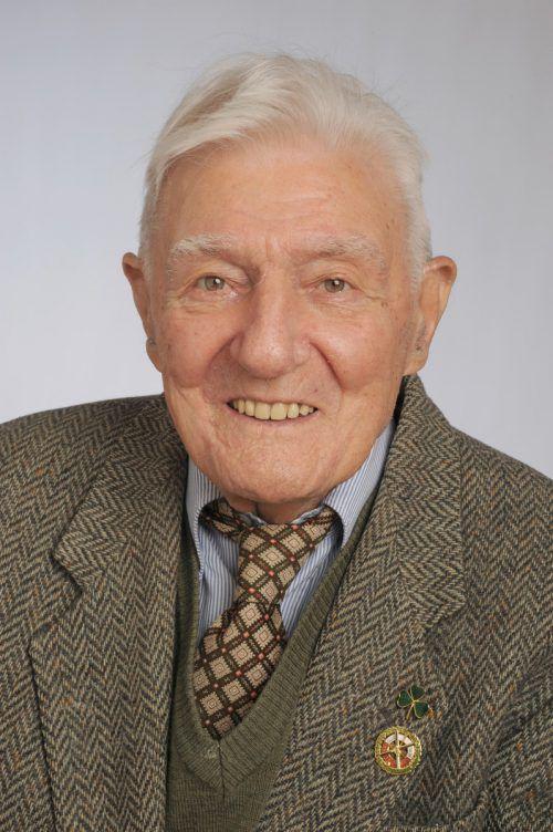 OSR Herbert Sauerwein wurde vielfach hoch ausgezeichnet.Dieter Mathis