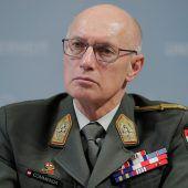Sieben Bewerber als Generalstabschef