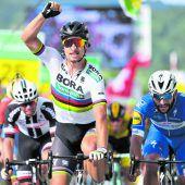 Küng führt bei der Tour de Suisse, Sagan gewinnt Etappe