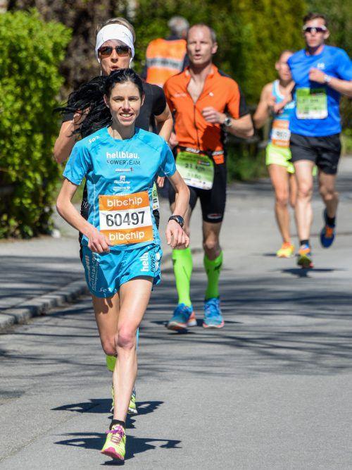 Petra Summer wurde Zweite in der Tageswertung. VN/Lerch