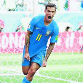Brasilien zittert sich zum Sieg