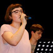 Musikschule tonart zeigte ihre Talente live auf der Löwenbühne.
