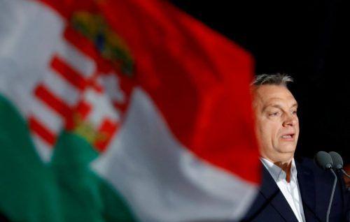 Premier Viktor Orban macht schon lange gegen Soros mobil. Reuters