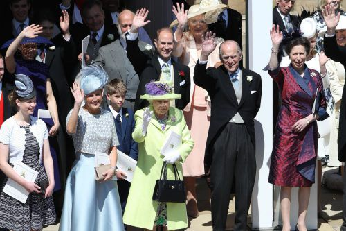 Prinz Philip kam im Mai zur Hochzeit seines Enkels Prinz Harry. afp