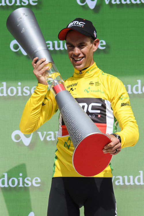 Richie Porte ist die Generalprobe für die Tour de France geglückt.ap