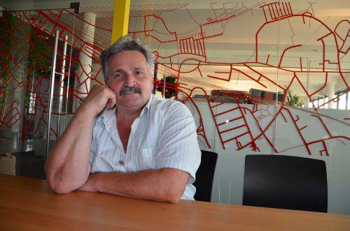 Rudi Längle will mit der Mensch-Tier-Partei in den Landtagswahlkampf ziehen. HRJ