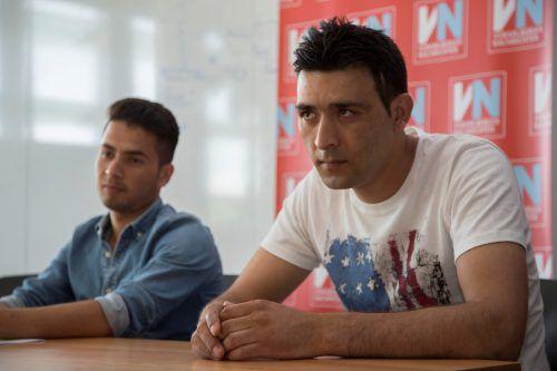 Said (links) und Nawab flüchteten aus ihrer Heimat nach Österreich. VN/Paulitsch