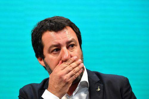Salvini fordert eine Entschuldigung Frankreichs. AFP